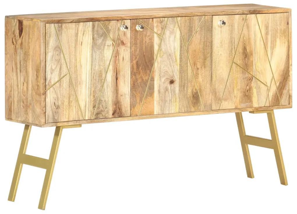 285873 vidaXL Servantă, 118 x 30 x 75 cm, lemn masiv de mango