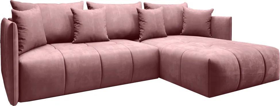 Colţar, roz vechi, LENY