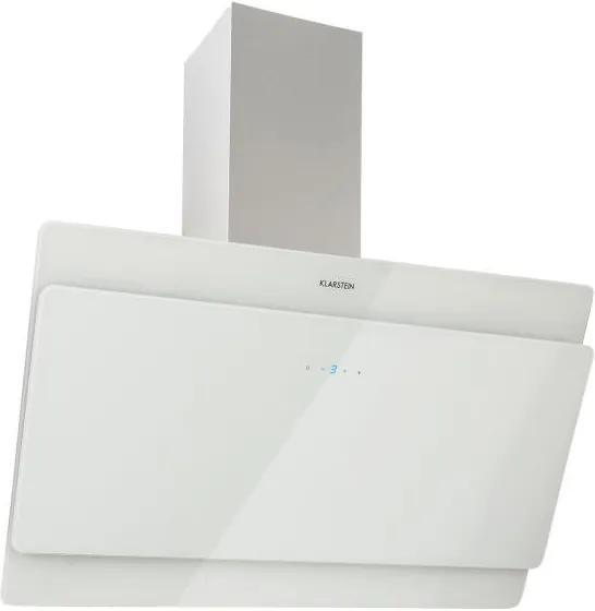 Klarstein Aurica 90, hotă pentru aburi, 90 cm, 610 m³/h, LED, alb