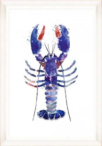 Tablou Framed Art Watercolor Lobster II