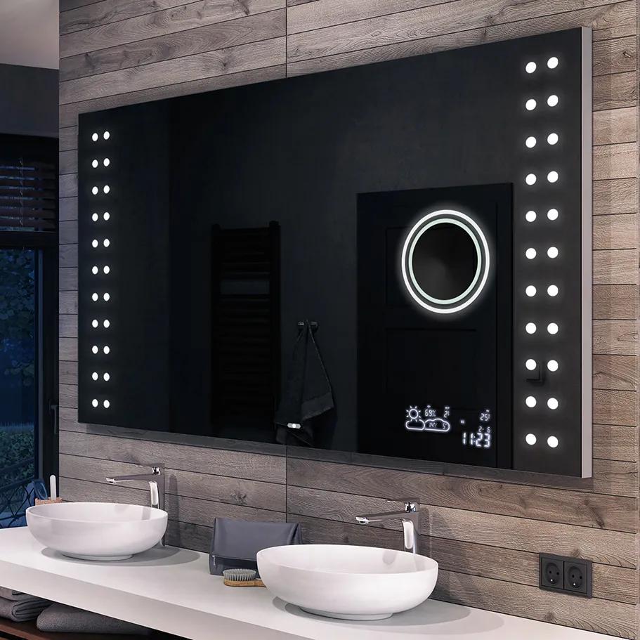 Oglinda baie cu iluminare LED56