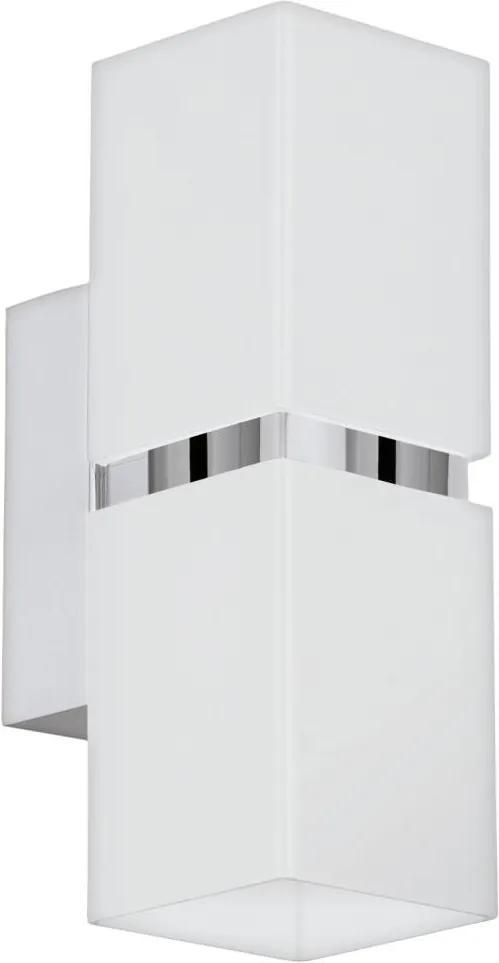 Eglo 95377 - Corp de iluminat LED perete PASSA 2xGU10-LED/4W/230V