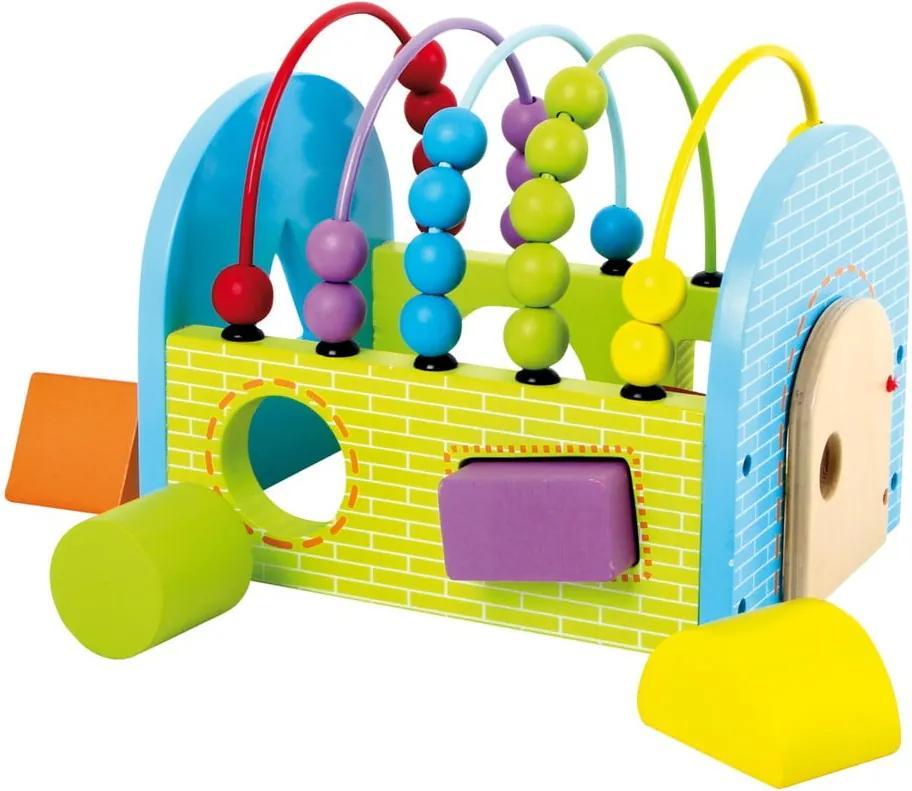 Jucărie din lemn pentru dezvoltarea abilităților motorii Legler Activity