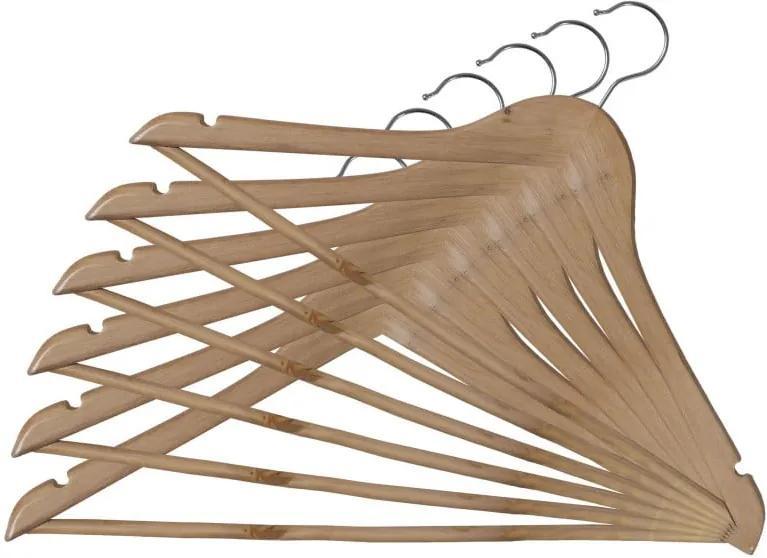 Set 6 umerașe lemn Domopak Somopak Basic