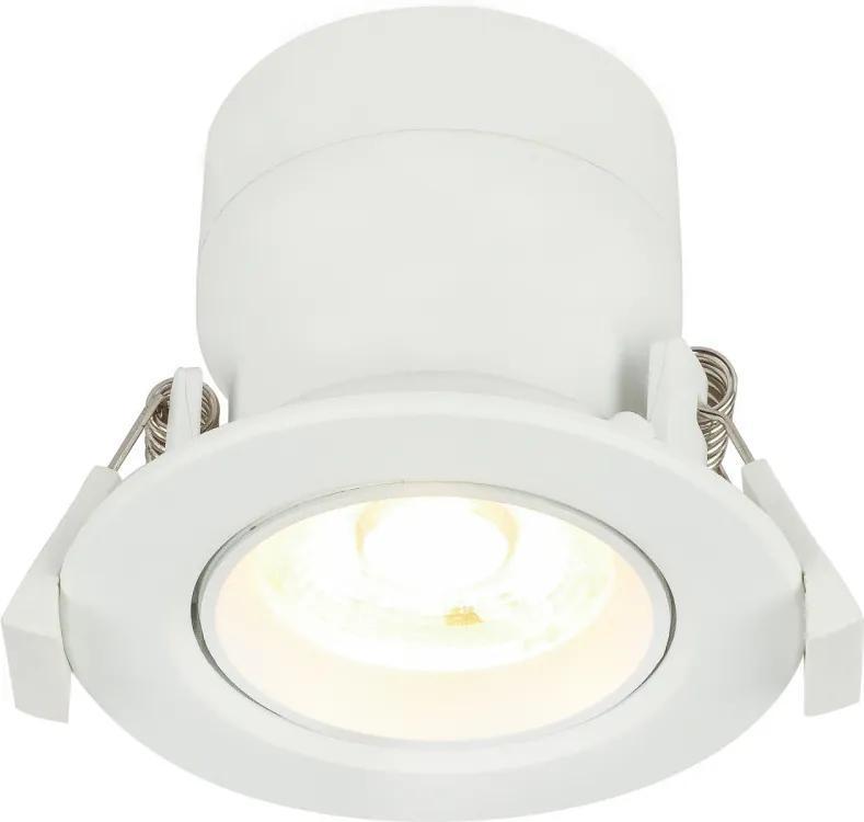 Globo 12393-5 Spoturi incastrate POLLY alb aluminiu LED - 1 x 5W 400lm 3000K IP20 A+