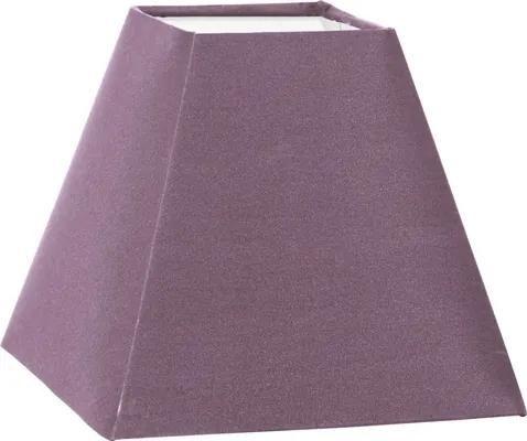 Abajur textil Vintage E14 180x180 mm, 155 mm, taupe