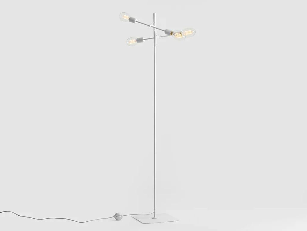Lampadar Twigo 4 White 43x160 CM, Custom Form