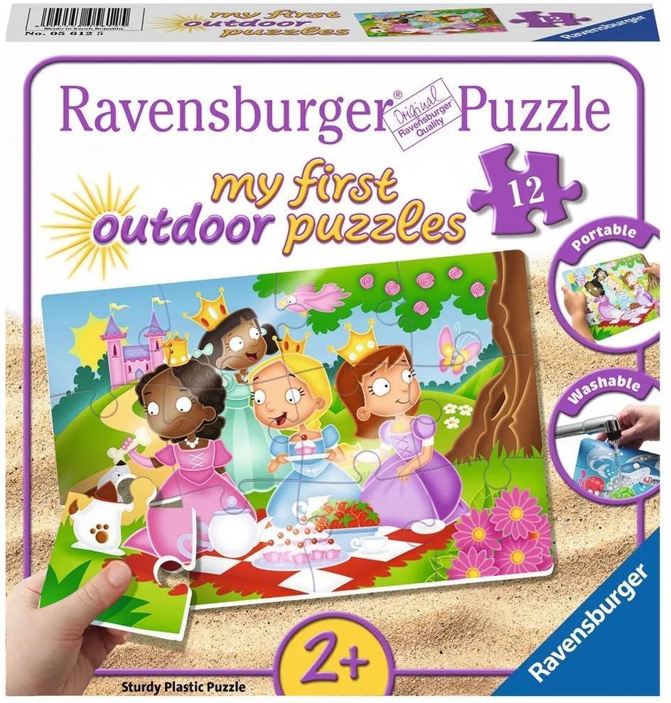 Puzzle Have Fun 2Ani+ printese dragute, 12 piese