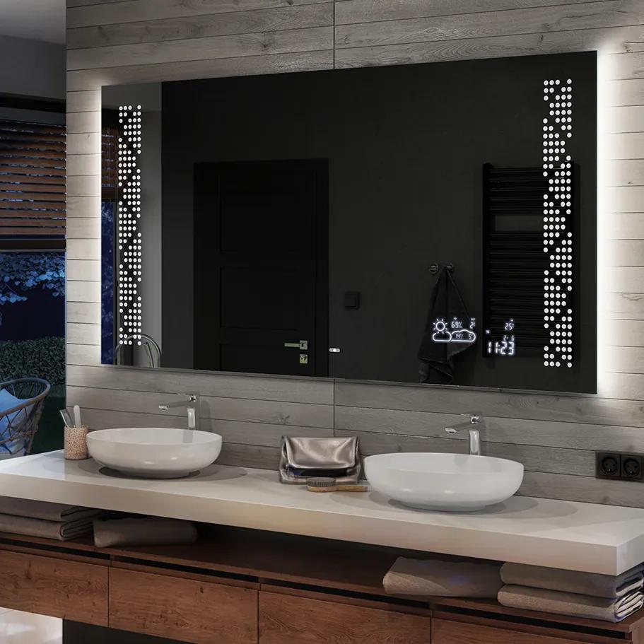 Oglinda baie cu iluminare LED66