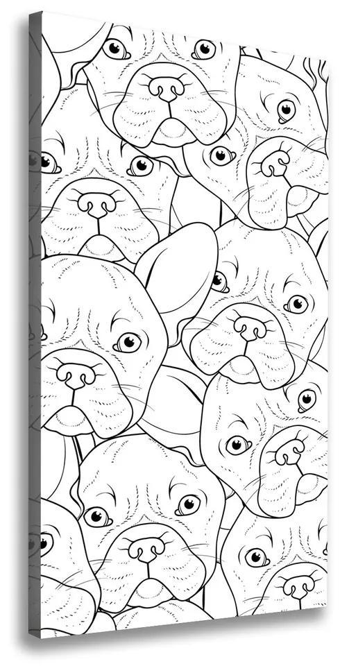Imprimare tablou canvas Bulldogs franceză