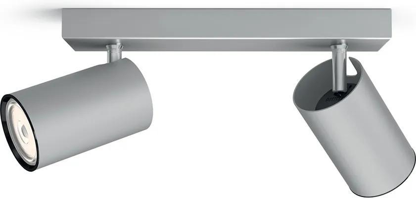 Philips 50592/48/PN - Lampa spot MYLIVING KOSIPO 2xGU10/10W/230V