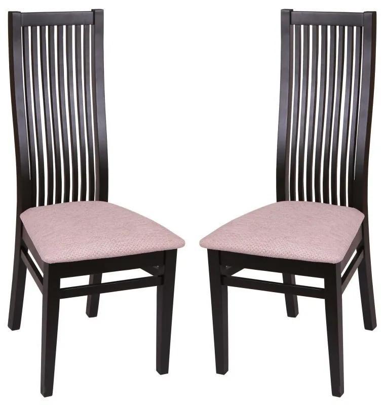 Set 2 scaune PARMA, Wenge/Regent plain 03
