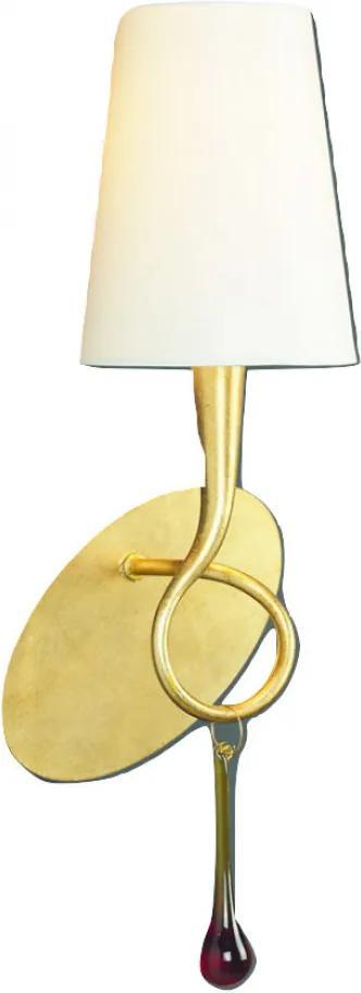 Mantra PAOLA 3548 Aplice cu brațe auriu metal 1xE14 max. 40W IP20