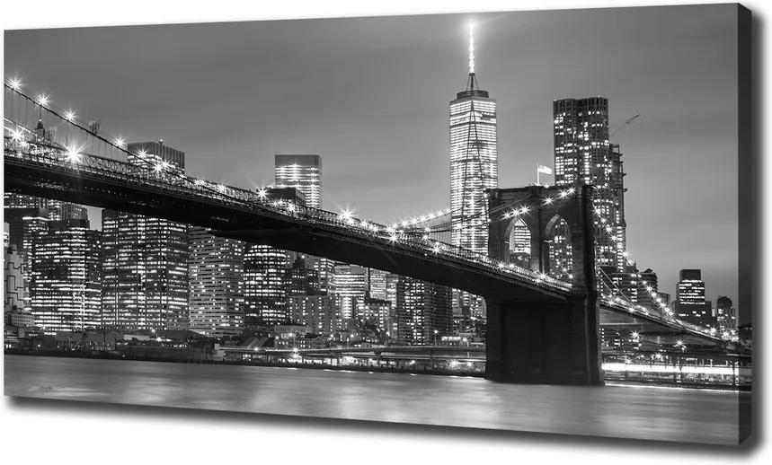 Print pe canvas New york, pe timp de noapte