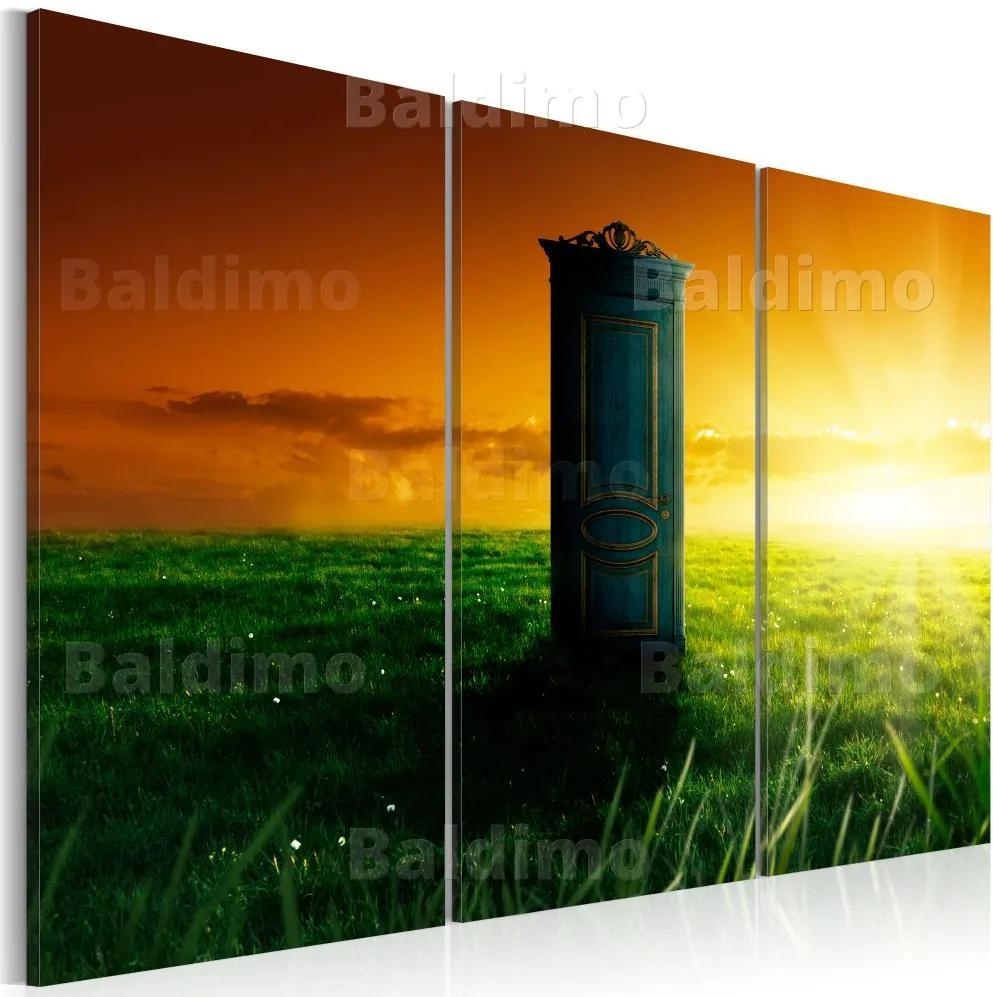 Tablou Bimago - Enchanted door 60x40 cm