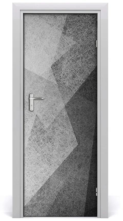 Autocolante pentru usi De auto-adezive DOOR Abstract Linii