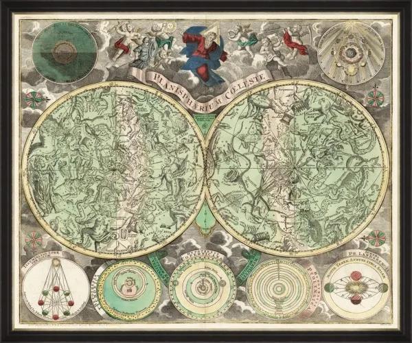 Tablou Framed Art Planisphaerium Celeste