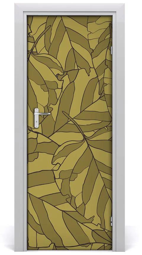 Autocolante pentru usi adeziv furnir wallpapers canate