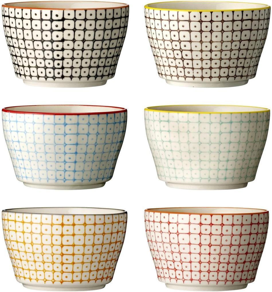 Set 6 Boluri Carla, Ceramica Ø11x6.5 cm