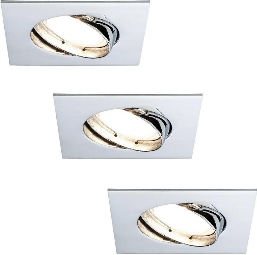 Paulmann 92845 - SET 3x LED Lampă încastrată dimmabilă 3xLED/7W/230V
