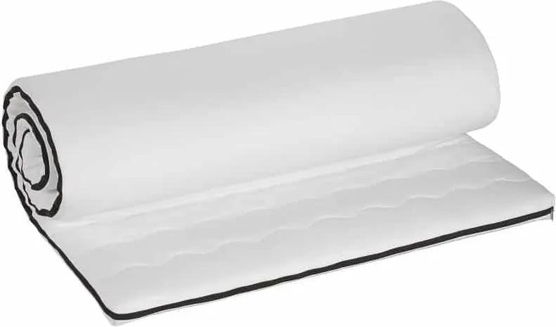 Topper Bedora Memory Foam 160x200 cm, medie, 4 cm, husa detasabila, lavabila, antialergica