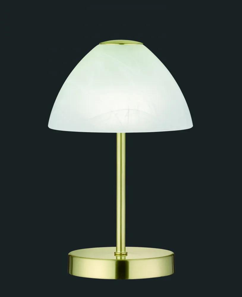 Trio R52021108 Lampa de masa de noapte QUEEN alama metal incl. 1 x SMD, 2,5W, 3000K, 200Lm 200lm 3000K IP20 A+