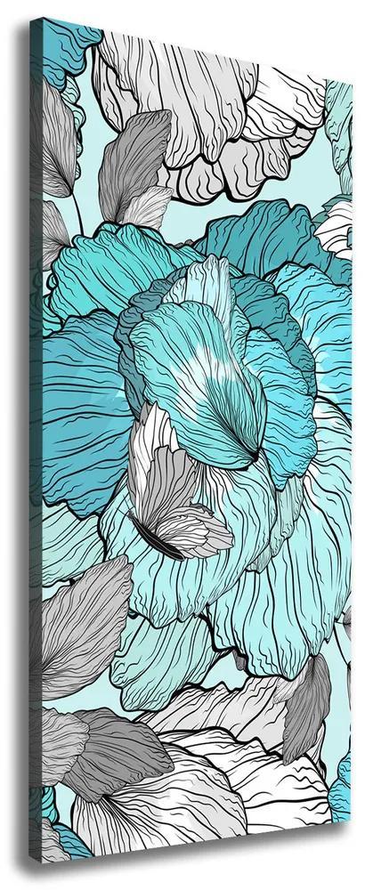 Tablou pe pânză canvas Model floral