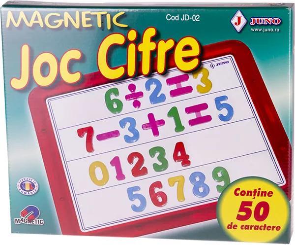 Joc educativ magnetic Cifre 50 piese