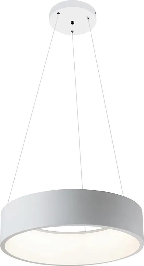 Rábalux 2509 Pendule LED Adeline alb mat metal LED 26W 1500lm 4000K IP20 A
