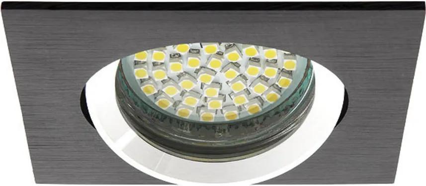Kanlux 18530 Spoturi incastrate Gwen negru aluminiu 1 x MR-16 max. 50W IP20
