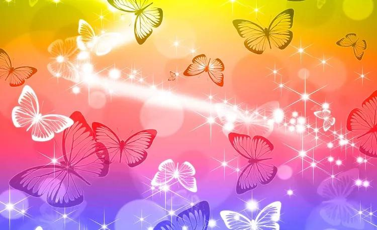 Butterflies Fototapet, (208 x 146 cm)