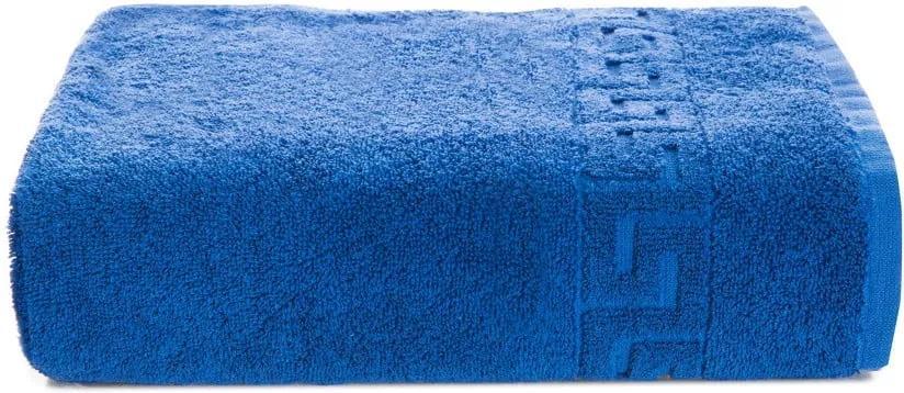 Prosop bumbac Kate Louise Pauline, 50 x 90 cm, albastru închis