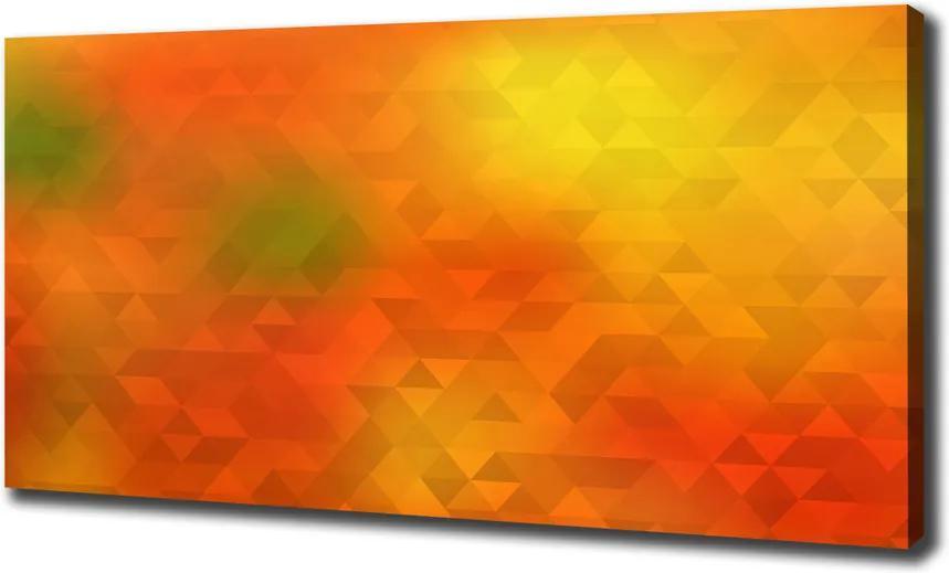 Tablou pe pânză canvas Triunghiuri abstractizare