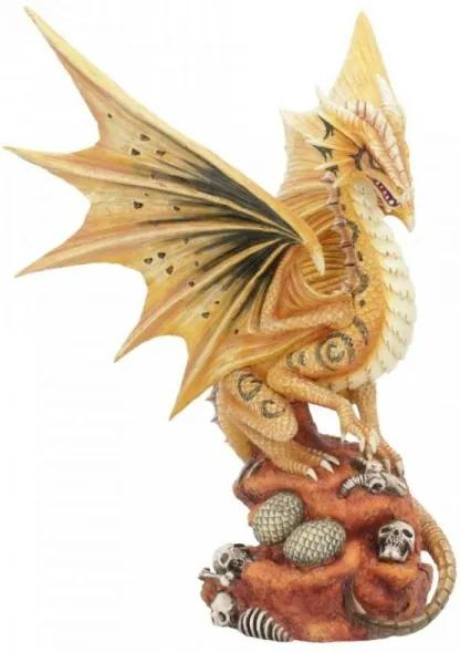 Statueta Age of Dragons - Dragon de desert adult - Anne Stokes - 24cm