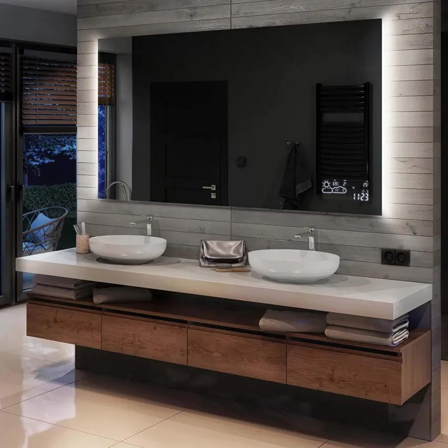 Oglinda baie cu iluminare LED62