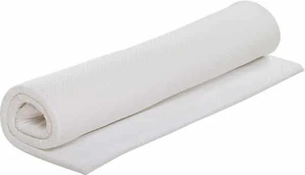 Topper Bedora Latex 160x200 cm, spuma latex, medie, 4 cm, husa detasabila, lavabila, antialergica
