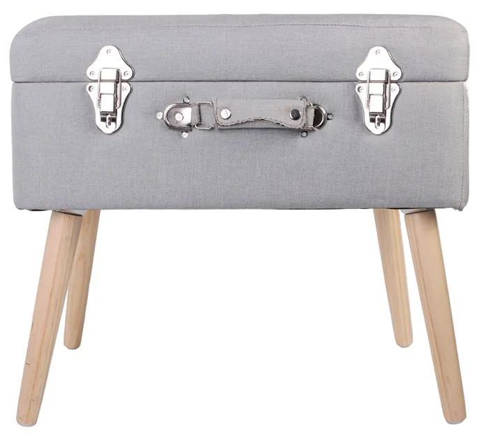 Bancheta CMP Suitcase S1  gri deschis