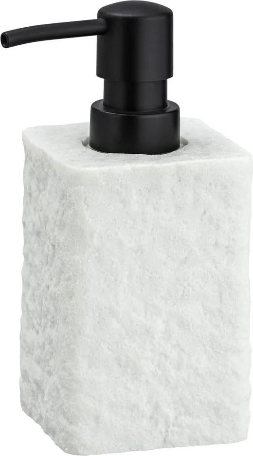 Dozator săpun Wenko Villata, 300 ml, alb