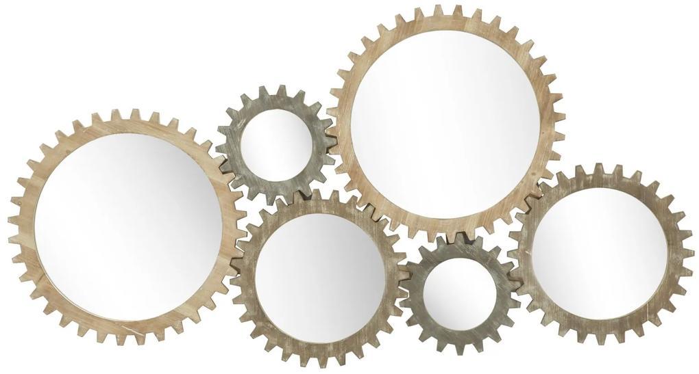 Oglinda de perete INGRANAGGIO, 137X3X73.50 CM, Mauro Ferretti