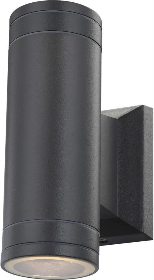 Globo 32028-2 Aplice pentru iluminat exterior GANTAR aluminiu 2 x GU10 max. 5w 300lm 3000K IP44 A+