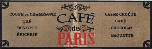 Traversa Cook&Wash Cafe de paris 50x150 cm