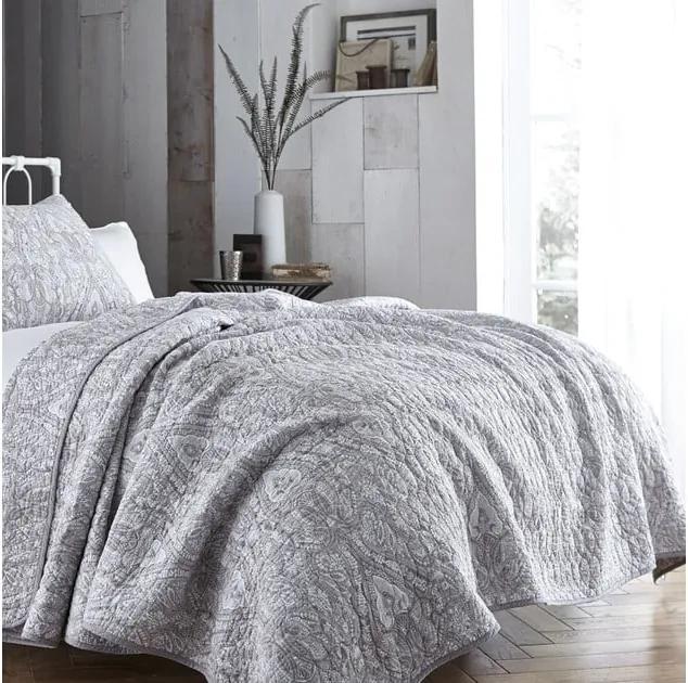 Cuvertură de pat Bianca Simplicity, 200 x 200 cm, gri