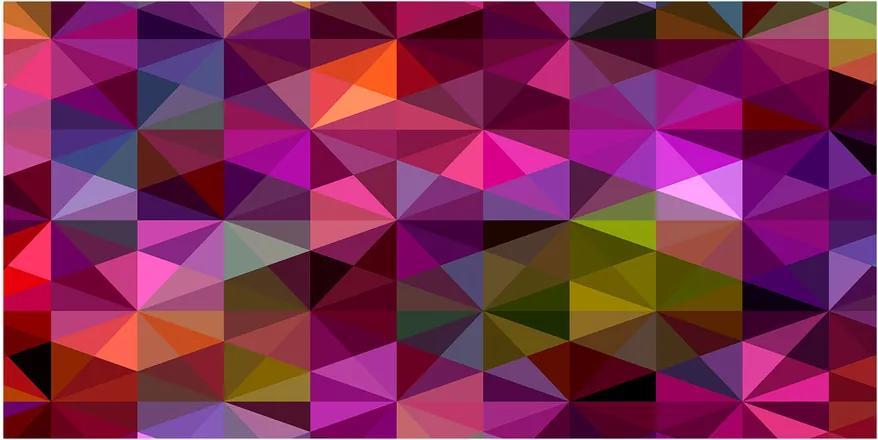 Tablou sticlă Valuri abstracte