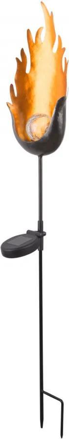Globo 33472 Stalpi și lampadare de exterior negru metal LED - 1 x 0,04W IP44