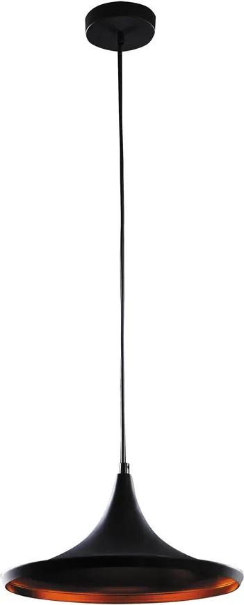 Rábalux Carin 3957 Pendul cu 1 braț negru metal E27 1x MAX 60W IP20