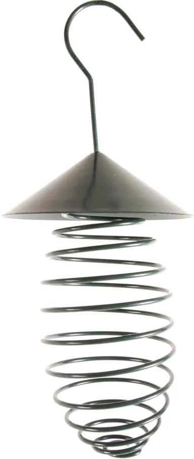 Suport pentru hrănit păsări Esschert Design, ⌀ 10,8 cm, verde închis