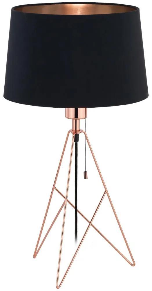Eglo 39178 - Lampă de masă CAMPORALE 1xE27/60W/230V