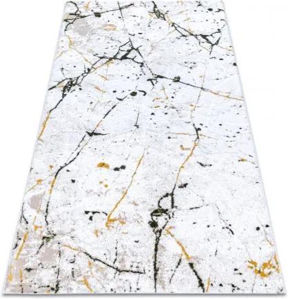 Covor acril DIZAYN 8986 fildeş / verde  80x150 cm