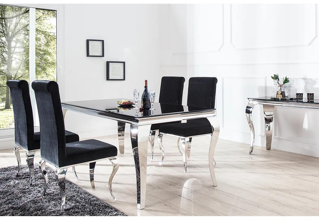 Masa Modern Baroque 200cm negru