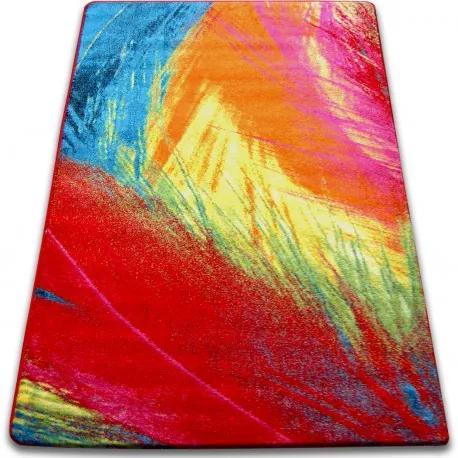Covor Paint - F474 roșu 120x170 cm